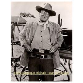 John Wayne / V�ritable Tirage Photo Argentique Original De 1963 Pour La Sortie Du Film De Andrew Mc Laglen