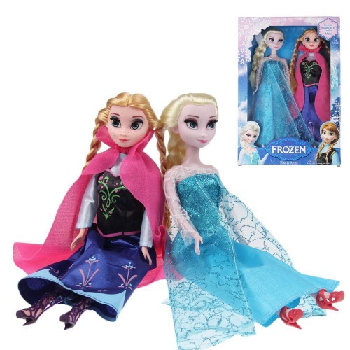 jouet elsa anna olaf 30 cm figurine avec bo te frozen la reine des neiges princesse. Black Bedroom Furniture Sets. Home Design Ideas