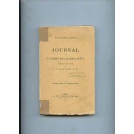 Journal Et Pensees De Chaque Jour. de elisabeth leseur