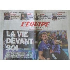 Journal L'equipe N�20907 - Xv De France : La Vie Devant Soi
