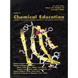 Journal Of Chemical Education 12 /82