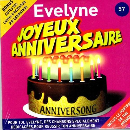 Joyeux Anniversaire Evelyne Anniversong Cd Single Rakuten