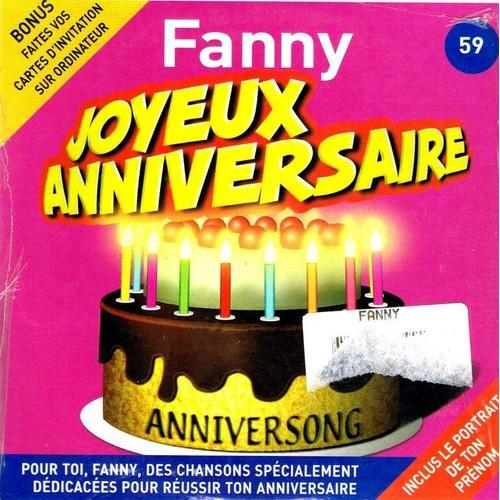 Joyeux Anniversaire Fanny Anniversong Cd Single Rakuten