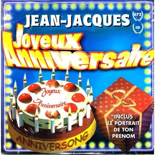 Joyeux Anniversaire Jean Jacques Anniversong Cd Single Rakuten