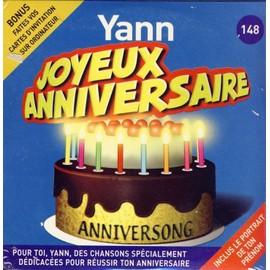Joyeux Anniversaire Yann Anniversong Cd Album Rakuten