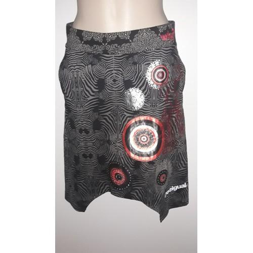 Étiquette Avec Taille SNoir MulticoloreNeuf Desigual Jupe Et Femme rxdCoQBWe