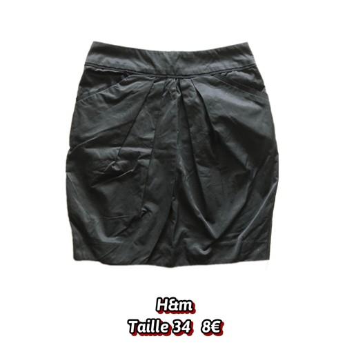 5f216746dcea7a Jupe noire plissee