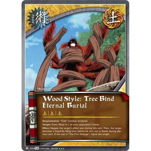 Jut 709 Wood Style:Tree Bind Eternal Burial Série 18 Us
