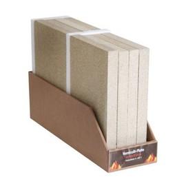 Vermiculite Plaque Chemin/ée de Mat/ériau Naturel env Substitut Pour Chamotte 30 x 19.8 x 3 cm Flam Panneau de Vermiculite Kamino R/ésistant aux Temp/ératures jusqu/'/à 1.100 /°C