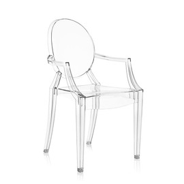 Kartell Chaise Louis Ghost Cristal