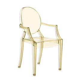 Kartell Chaise Louis Ghost Jaune