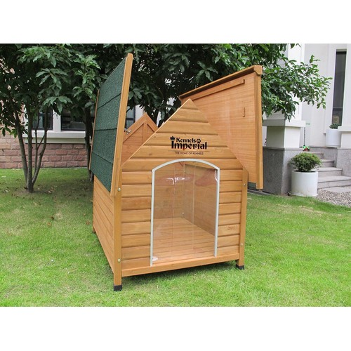 kennels imperial sussex chenil en bois tr s grande taille chien avec plancher amovible pour un. Black Bedroom Furniture Sets. Home Design Ideas