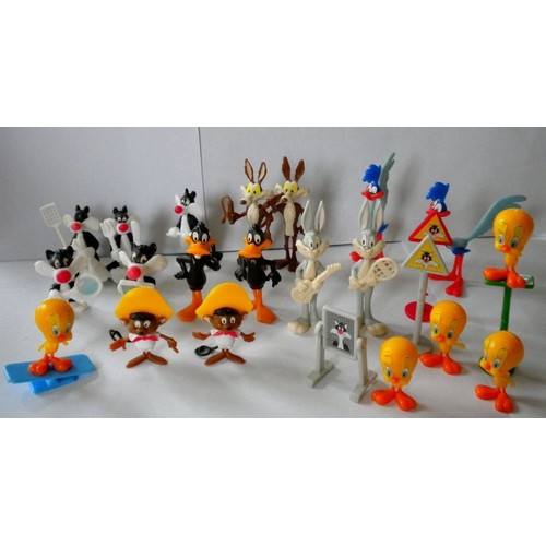 kinder surprise s rie bugs bunny titi k92 1991 x 20 figurines montable magic kinder ferrero. Black Bedroom Furniture Sets. Home Design Ideas