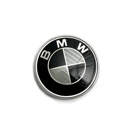 kit 7 badge logo embleme bmw carbone noir gris capot. Black Bedroom Furniture Sets. Home Design Ideas