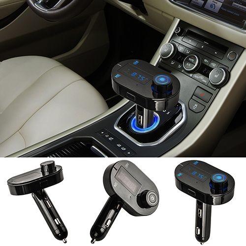 kit bluetooth transmetteur fm voiture main libre musique lecteur usb pour t l phone. Black Bedroom Furniture Sets. Home Design Ideas