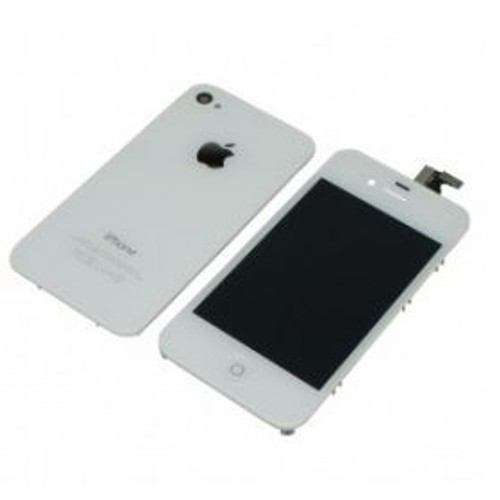 kit complet lcd tactile arriere bouton home iphone 4s blanc. Black Bedroom Furniture Sets. Home Design Ideas