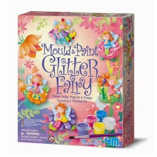 kit de moulage badges et magnets fes jeux de loisirs cratifs pour filles 6 ans