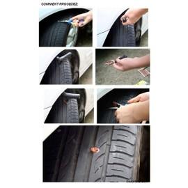 kit de r paration tubeless crevaison pneus voiture moto outils 13 m ches expedition 24 48hrs. Black Bedroom Furniture Sets. Home Design Ideas