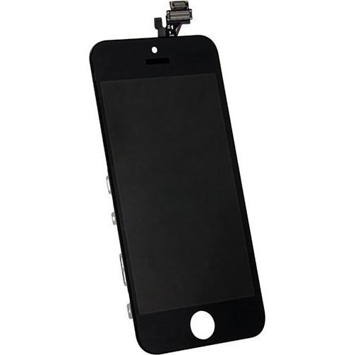 kit cran complet lcd vitre pour iphone 5s noir pas cher. Black Bedroom Furniture Sets. Home Design Ideas
