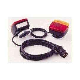 kit feux magnetique 2 feux arrieres pour remorque installation rapide. Black Bedroom Furniture Sets. Home Design Ideas