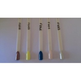 Kit Lot Gel Uv Vernis Semi Permanent Cam�l�on X 5 + Base Uv + Top Coat Uv