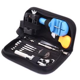 kit sacoche noir outils pour reparation de montre ou horloger pas cher. Black Bedroom Furniture Sets. Home Design Ideas