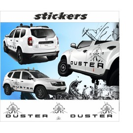 kit voiture stickers dacia duster achat et vente priceminister rakuten. Black Bedroom Furniture Sets. Home Design Ideas