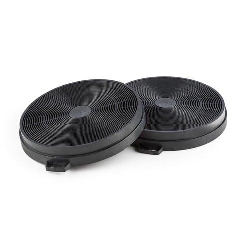 Klarstein set de 2 filtres charbon actif pour hotte de - Hotte de cuisine avec filtre a charbon ...