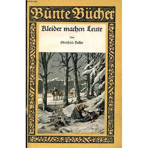 Kleider Machen Leute De Gottfried Keller Livre Neuf Occasion