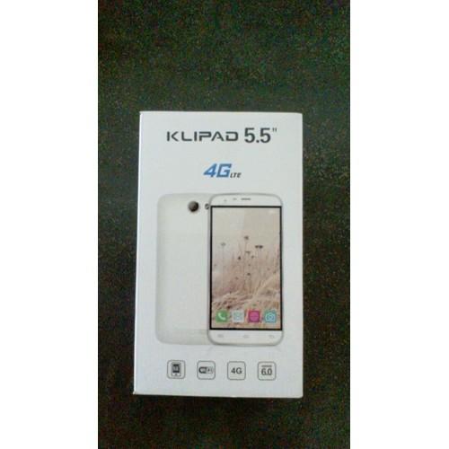 Klipad V355 8 Go Smartphone 4g 5 5 Blanc Pas Cher