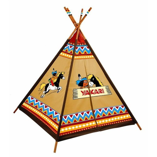 knorrtoys 86559 tipi indien motifs yakari neuf et d 39 occasion. Black Bedroom Furniture Sets. Home Design Ideas