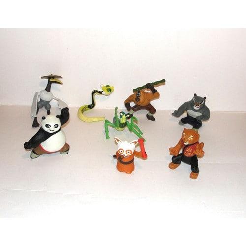 kung fu panda serie complete figurines macdo achat et vente. Black Bedroom Furniture Sets. Home Design Ideas