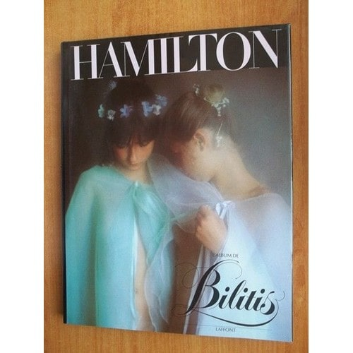BILITIS by David Hamilton 1977 Softcover Nude Photography Book
