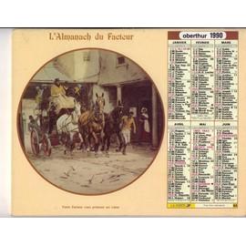 L'almanach Du Facteur 1990