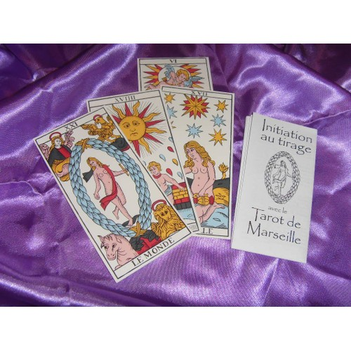 l 39 ancien tarot de marseille de nicolas conver jeu de cartes divinatoires de voyante de type. Black Bedroom Furniture Sets. Home Design Ideas