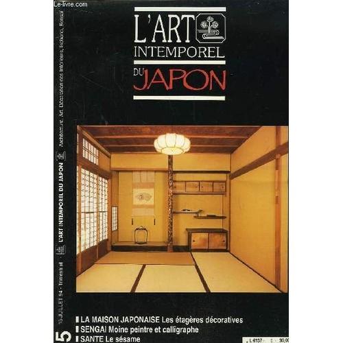 l 39 art intemporel du japon n 5 la maison japonaise les tag res d coratives takanami s tar. Black Bedroom Furniture Sets. Home Design Ideas