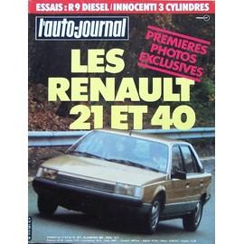 l 39 auto journal 1 1983 renault 21 et 40 r9 diesel innocenti rakuten. Black Bedroom Furniture Sets. Home Design Ideas