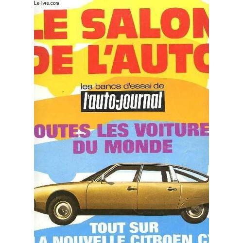 l 39 auto journal 14 15 1er septembre 1974 le salon de l 39 auto annee 1974 les bancs d. Black Bedroom Furniture Sets. Home Design Ideas