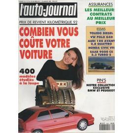 l 39 auto journal n 1 combien vous co te votre voiture toledo diesel vw polo g40 audi 100. Black Bedroom Furniture Sets. Home Design Ideas