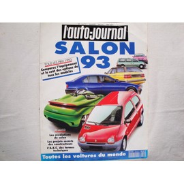 l 39 auto journal salon 1993 14 15 achat vente neuf occasion. Black Bedroom Furniture Sets. Home Design Ideas
