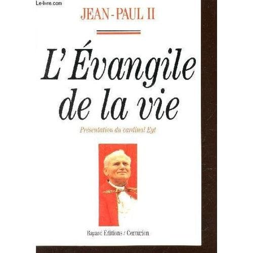 Evangile De La Vie De Jean Paul Ii Pape Livre Neuf Occasion border=