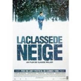 La Classe De Neige - Claude Miller - Affiche De Cin�ma Pli�e 120x160 Cm