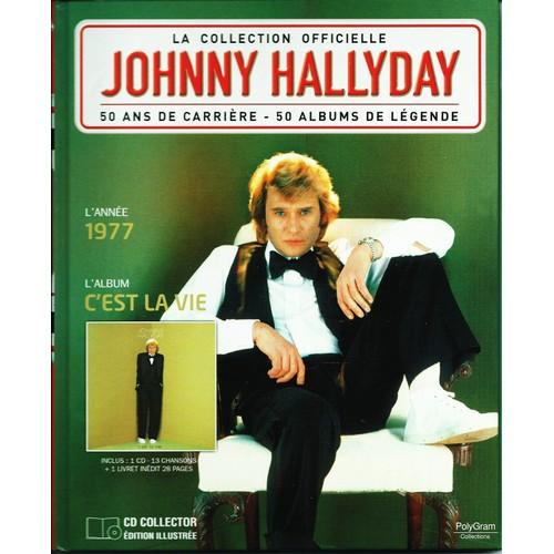 la collection officielle johnny hallyday cd album priceminister rakuten. Black Bedroom Furniture Sets. Home Design Ideas
