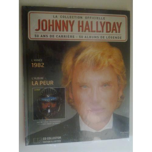 la collection officielle johnny hallyday la peur cd album. Black Bedroom Furniture Sets. Home Design Ideas