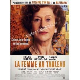 La Femme Au Tableau Woman In Gold Affiche Originale De Cinema Format X Cm Un Film De Simon Curtis Avec Helen Mirren Ryan Reynolds