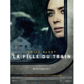 la fille du train the girl on the train affiche originale de cin ma format 40x60 cm un. Black Bedroom Furniture Sets. Home Design Ideas