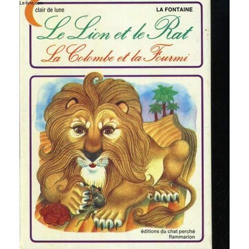 Le lion et le rat la colombe et la fourmi de la fontaine - Image le lion et le rat ...