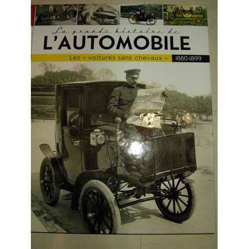 la grande histoire de l automobile les voitures sans chevaux 1880 1899 de serge bellu format. Black Bedroom Furniture Sets. Home Design Ideas