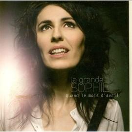 La Grande Sophie : Quand Le Mois D�Avril (Cd Single Collector)