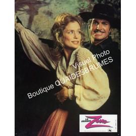 La Grande Zorro - Zorro, The Gay Blade : Jeu De 14 Photos D'exploitation Cin�matographique - Format 21x27 Cm - De Peter Medak Avec George Hamilton, Lauren Hutton, Brenda Vaccaro, Clive Revill - 1981